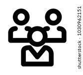 team group organization  | Shutterstock .eps vector #1030962151