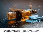 close up of aurvedic herb... | Shutterstock . vector #1030963624