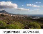 coastal tourism area  tenerife  ...   Shutterstock . vector #1030986301