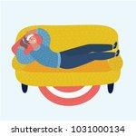 vector cartoon illustration of... | Shutterstock .eps vector #1031000134