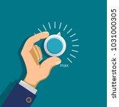 climate control regulator.... | Shutterstock .eps vector #1031000305