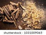 close up of ayurvedic herb... | Shutterstock . vector #1031009065