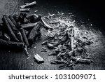 close up of ayurvedic herb... | Shutterstock . vector #1031009071