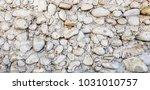 stone wall concrete texture... | Shutterstock . vector #1031010757