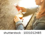female freelancer concept.... | Shutterstock . vector #1031012485