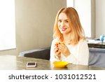 female freelancer concept.... | Shutterstock . vector #1031012521