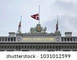 copenhagen  denmark   june 22 ... | Shutterstock . vector #1031012599