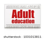 learning concept  newspaper... | Shutterstock . vector #1031013811
