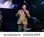 royce mitchell on stage with... | Shutterstock . vector #1031013955