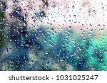 Droplets Of Rain On A Window...