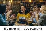 in the bar  restaurant best... | Shutterstock . vector #1031029945