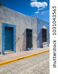 campeche  mexico   january 31... | Shutterstock . vector #1031043565