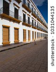 campeche  mexico   january 31... | Shutterstock . vector #1031044135