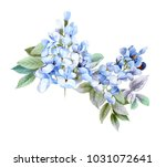 flowers carry the scent of... | Shutterstock . vector #1031072641