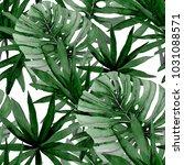 watercolor seamless pattern... | Shutterstock . vector #1031088571