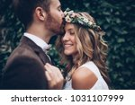 Amazing Smiling Wedding Couple...