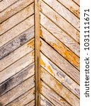 the wooden background and... | Shutterstock . vector #1031111671