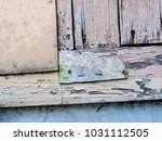 the wooden background and... | Shutterstock . vector #1031112505