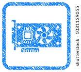 video accelerator card rubber... | Shutterstock .eps vector #1031139055