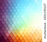 Abstract Colorful Tiled Patter...
