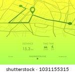 dashboard theme creative... | Shutterstock .eps vector #1031155315