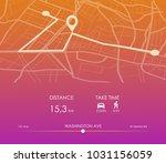 dashboard theme creative... | Shutterstock .eps vector #1031156059