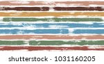 tartan watercolor brush stripes ... | Shutterstock .eps vector #1031160205