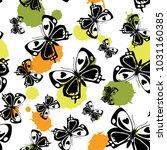 Lovely Seamless Butterfly Clot...