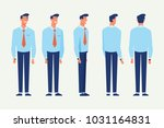 business man for animation.... | Shutterstock .eps vector #1031164831