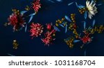 floral background. selective... | Shutterstock . vector #1031168704