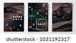 vector 3d realistic sale paper...   Shutterstock .eps vector #1031192317