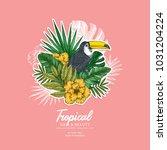Summer Floral Retro Design...
