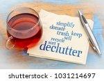 declutter and simplify word...   Shutterstock . vector #1031214697