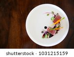 exquisite dish  creative... | Shutterstock . vector #1031215159