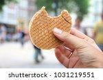 stroopwafel in amsterdam  ...   Shutterstock . vector #1031219551