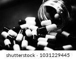 pills in capsules | Shutterstock . vector #1031229445