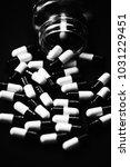 pills in capsules | Shutterstock . vector #1031229451
