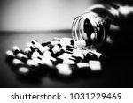 pills in capsules | Shutterstock . vector #1031229469