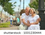 senior couple on city street | Shutterstock . vector #1031230444