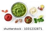 Bowls Of Various Sauces...