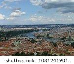 view of prague | Shutterstock . vector #1031241901