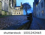 durham cathedral in the evening | Shutterstock . vector #1031242465