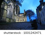 durham cathedral in the evening | Shutterstock . vector #1031242471