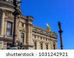 national opera paris... | Shutterstock . vector #1031242921