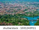 turin skyline from superga hill ... | Shutterstock . vector #1031243911