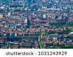turin skyline from superga hill ... | Shutterstock . vector #1031243929