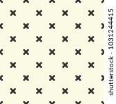 criss cross pattern vector | Shutterstock .eps vector #1031244415