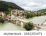 stara cuprija bridge  konjic... | Shutterstock . vector #1031251471