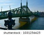 szabads g h d bridge in... | Shutterstock . vector #1031256625