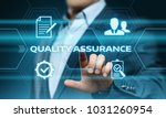 quality assurance service... | Shutterstock . vector #1031260954
